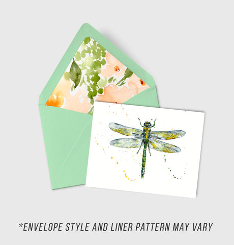 Green Darner - Morphology Collection - A2 Card