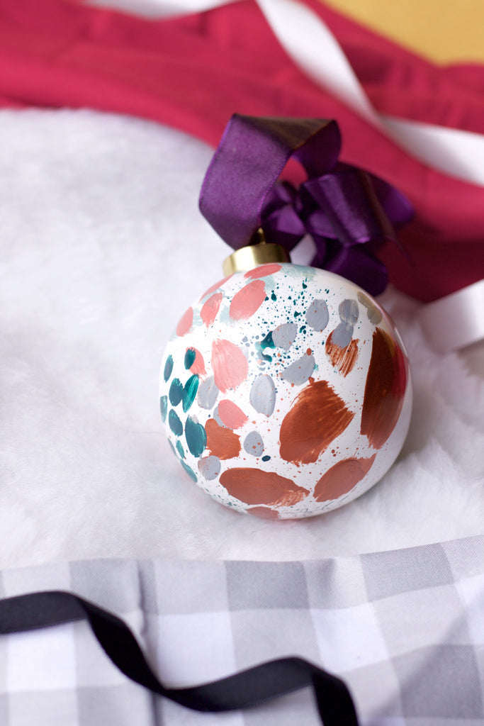 Lucky No. 2 - Hand Painted Holiday Ornament - Holidays 2016