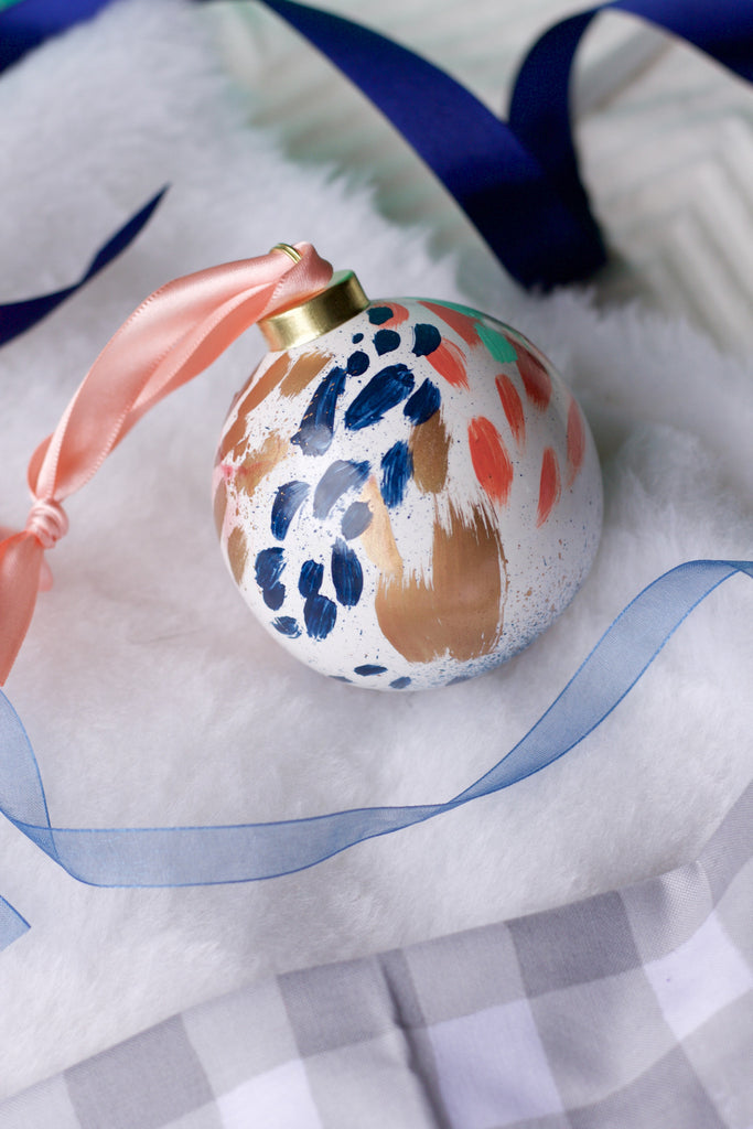 Fireworks No. 5  - Hand Painted Holiday Ornament - Holidays 2016