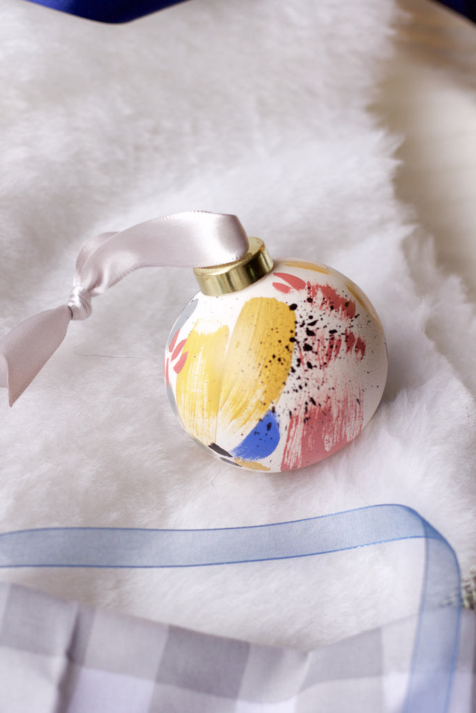 Holiday Harbor No. 7  - Hand Painted Holiday Ornament - Holidays 2016