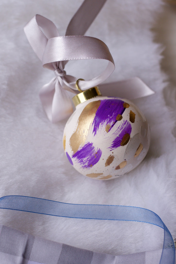 Queen No. 10  - Hand Painted Holiday Ornament - Holidays 2016