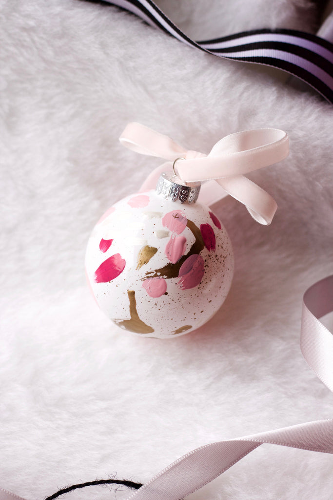 Bubblegum No. 6  - Hand Painted Holiday Ornament - Holidays 2016