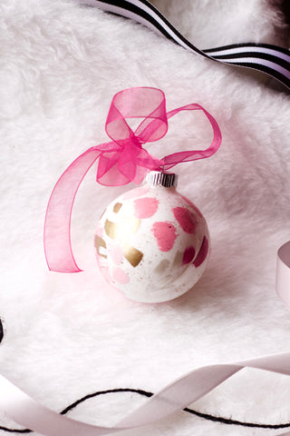 Bubblegum No. 5  - Hand Painted Holiday Ornament - Holidays 2016
