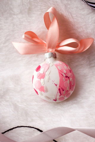 Bubblegum No. 4  - Hand Painted Holiday Ornament - Holidays 2016