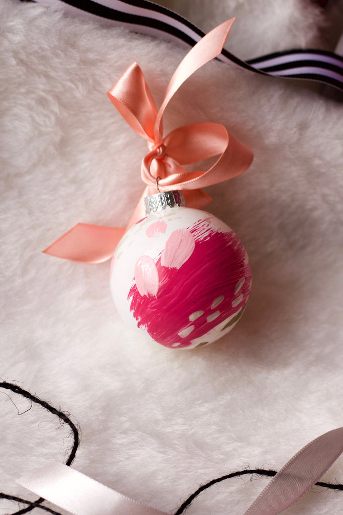 Bubblegum No. 3  - Hand Painted Holiday Ornament - Holidays 2016