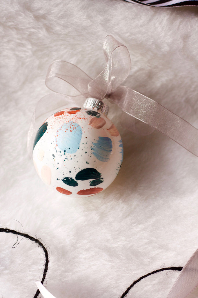 Rusted No. 2  - Hand Painted Holiday Ornament - Holidays 2016