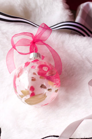 Bubblegum No. 2  - Hand Painted Holiday Ornament - Holidays 2016