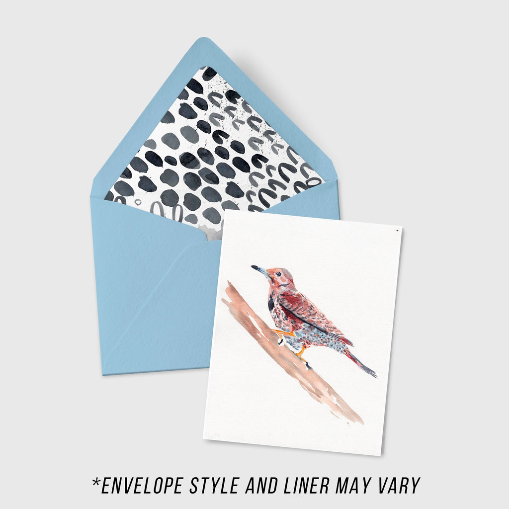 Woodpecker - Aviary Collection - A2 Card