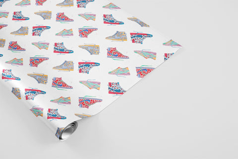 Sneakers Wrapping Paper - Sneakers Collection