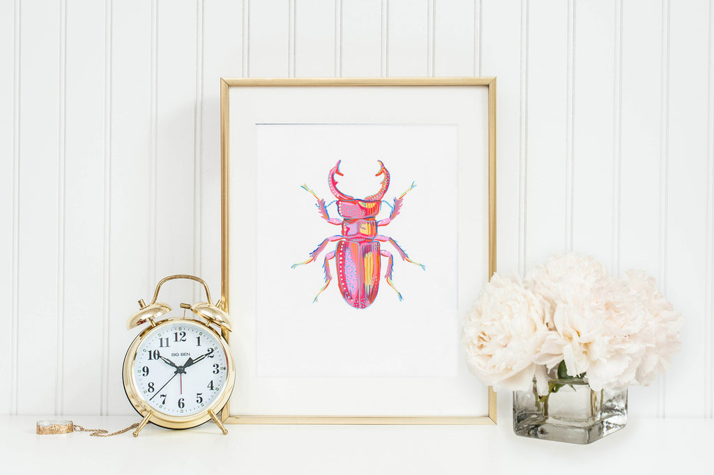 Stag Beetle 1 - Little Bugs Collection