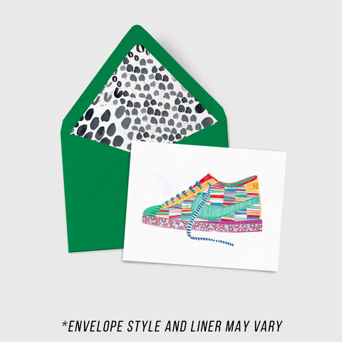 Stripeway - Sneakers Collection - A2 Card