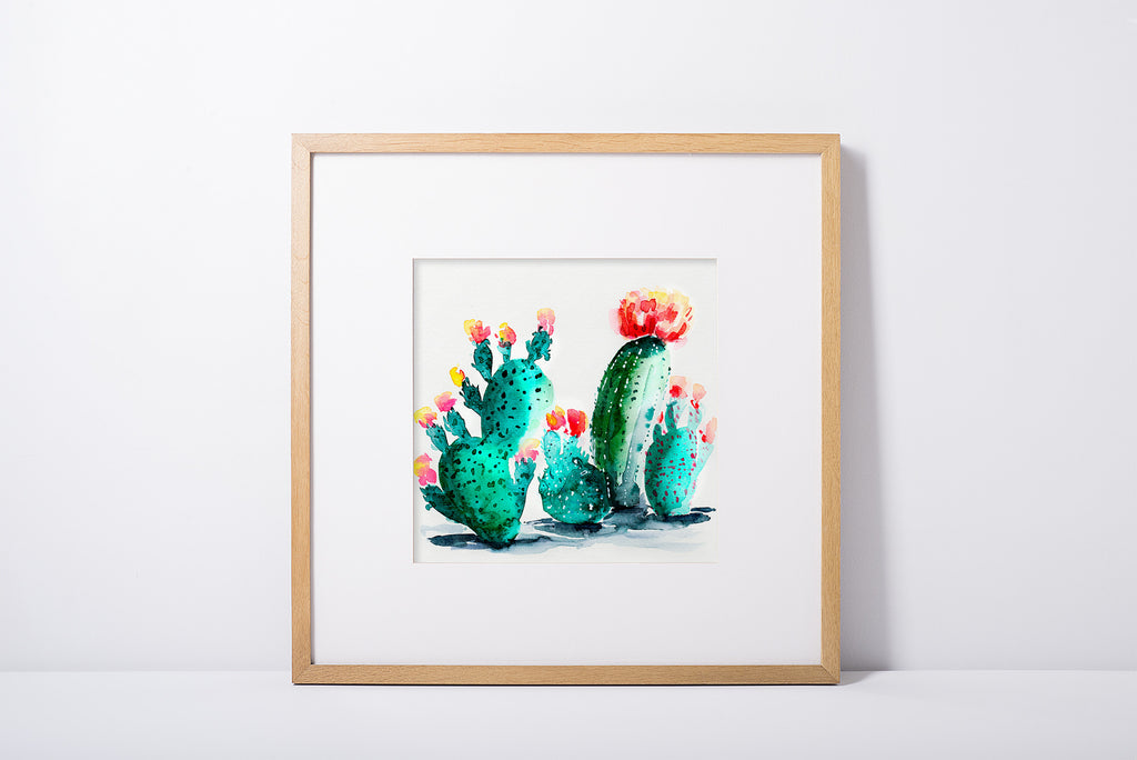 Watercolor Cacti 2 - Cactus Collection