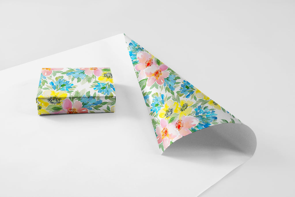 English Garden Wrapping Paper