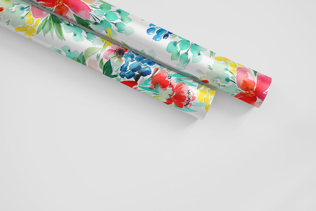 Flower Market Wrapping Paper - Wildflowers Collection