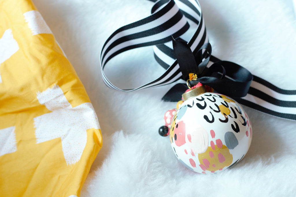 Goldenrod No. 1  - Hand Painted Holiday Ornament - Holidays