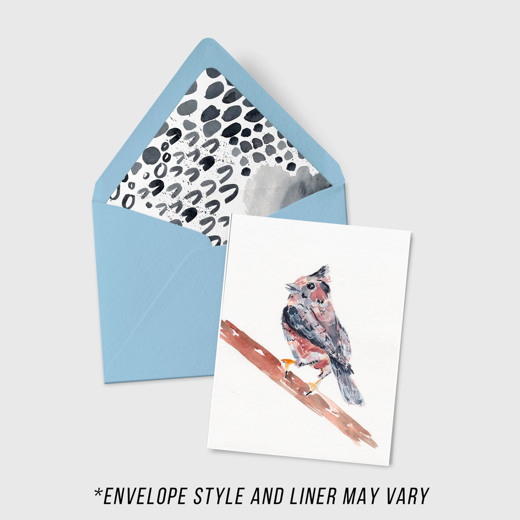 Purple Finch - Aviary Collection - A2 Card