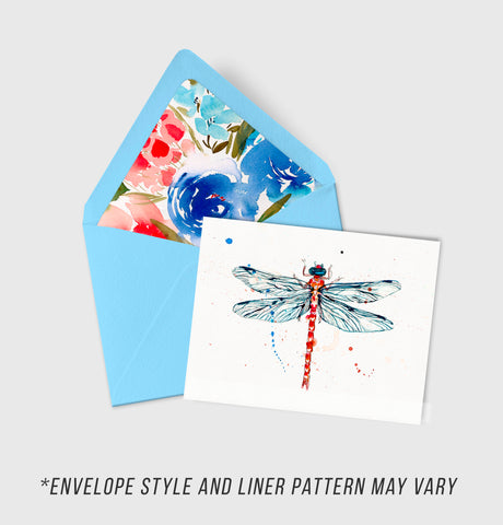 Damsel Fly - Morphology Collection - A2 Card