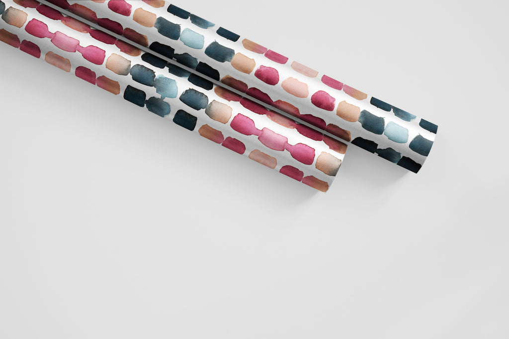 Suede Dots Wrapping Paper - Abstraction Collection