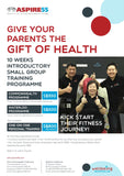 Kickstart 2018 with Gift of Health For Your Parents - 10 week strength training programme (Waterloo Premium Club)