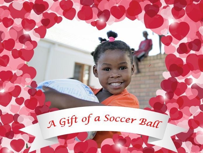 Valentine's Day Soccer Ball