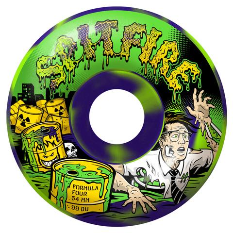 Spitfire Formula Four Toxic Apocalypse Afterburners, 54mm