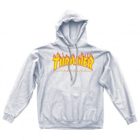 Thrasher Flame Hoodie - Ollie Around