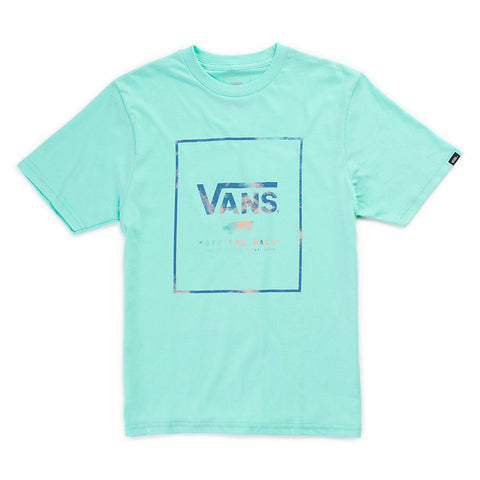 Vans Print Box Youth Tee - Ollie Around
