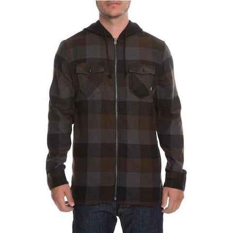 Vans Nevermind Youth Zip Flannel Shirt - Ollie Around