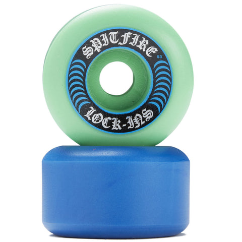 Spitfire Formula Four Lock-In Mashup 99D Wheels, 53mm
