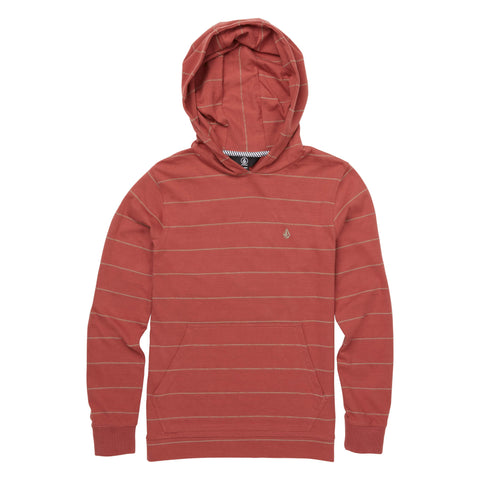 Volcom Wallace Youth LS Hooded Tee - Ollie Around