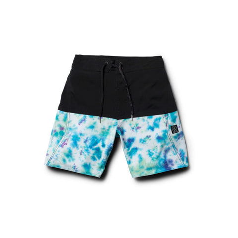 Volcom Vibes Elastic Youth Boardshort - Ollie Around