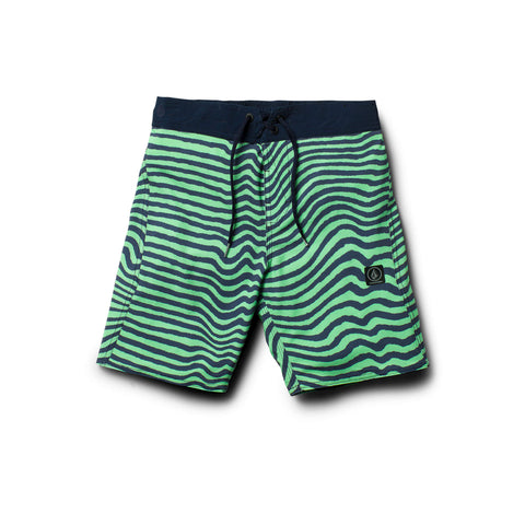 Volcom Mag Vibes Elastic Youth Boardshort - Ollie Around