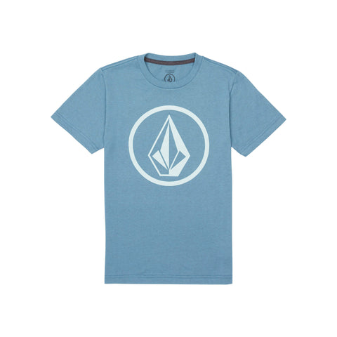 Volcom Circle Stone Youth Tee - Ollie Around