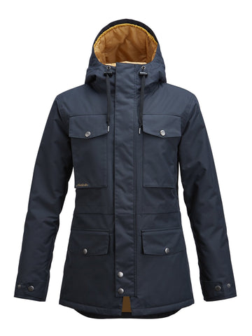 Air Blaster Freedom Parka Ladies Jacket - Ollie Around