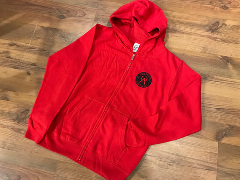 Ollie Around Youth Zip Hoodie