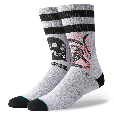 Stance Oblow Snake Sock - Ollie Around