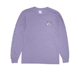 Ripndip Lord Nermal Pocket Ls Tee