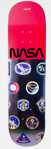 Habitat Nasa Logo Array Deck, 8.125""