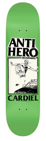 Anti Hero Cardiel Deck, 8.12""