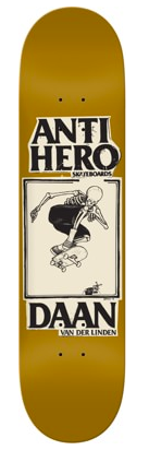 Anti Hero Daan Deck, 8.25""