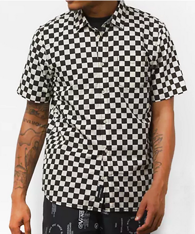 Vans Cypress Checker 2 Woven Button Up