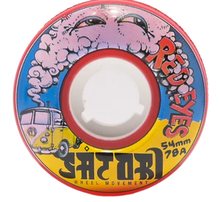 Satori Red Eyes Wheels, 78A, 54mm