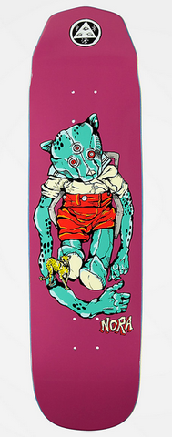 Welcome Nora Vasconcellos Teddy on Wicked Princess Deck, 8.125""