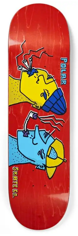 Polar Smoking Heads Deck, 8.625""