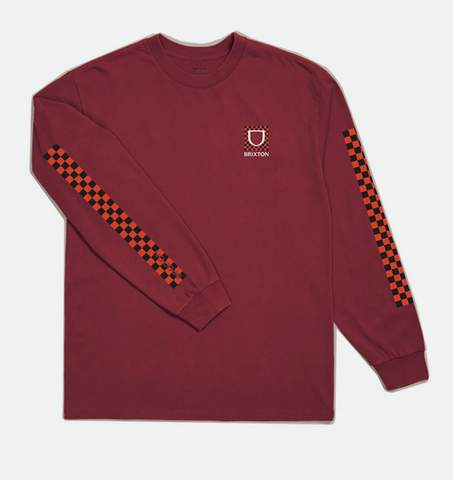 Brixton Checkers LS Tee