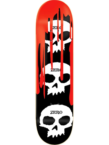 Zero 3 Skull Blood Deck, 8.25""