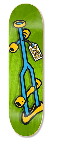 Black Label OG Crutch Deck, 8.25""