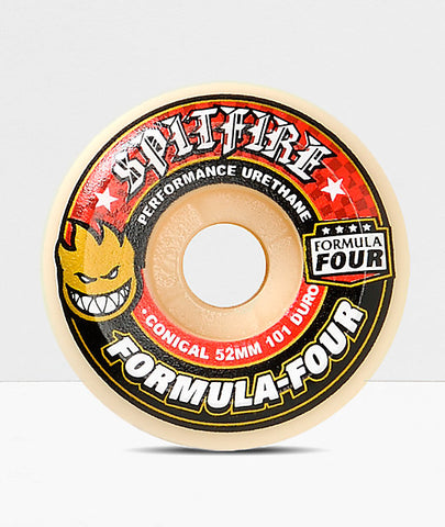 Spitfire Formula Four Conical 101D Wheels, 54mm