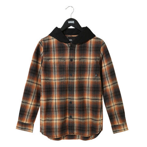 Vans Lopes Hooded Youth Flannel