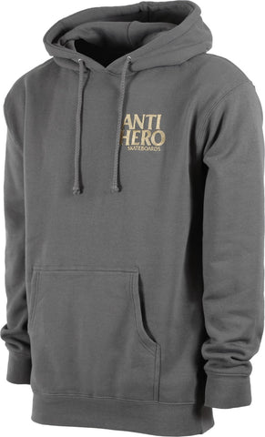 Anti Hero Lil Blackhero Embroidered Hoodie